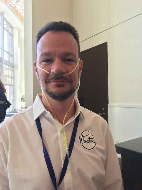 Oxygen bar BP Conference 2016