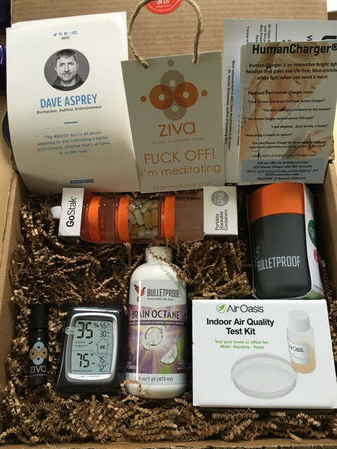 Quarterly Biohack Box Dave Asprey #7